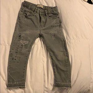 Zara stretch skinny jeans 5